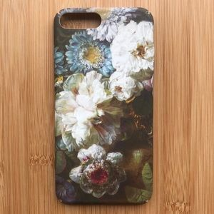 NEW Iphone 7/8/7+/8+ Floral Flowers Case